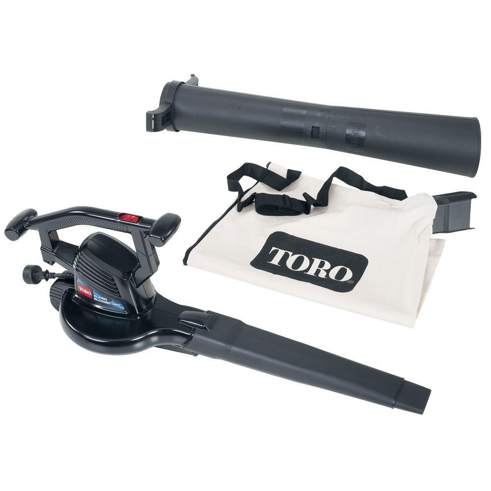 Toro Super 240 MPH 270 CFM 12-Amp Electric Handheld Leaf Blower/Mulcher/Vaccum