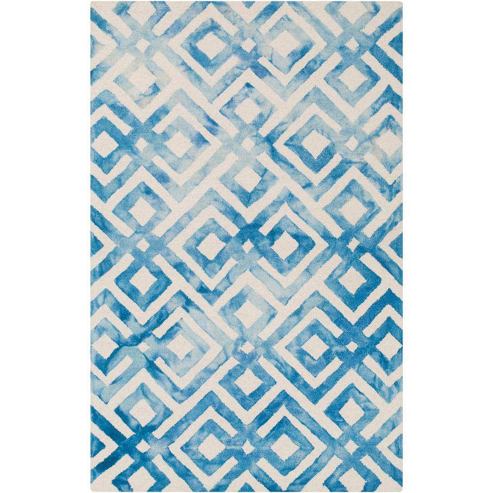 Surya germili bright blue 9 ft x 11 ft 10 in indoor for Bright blue area rug
