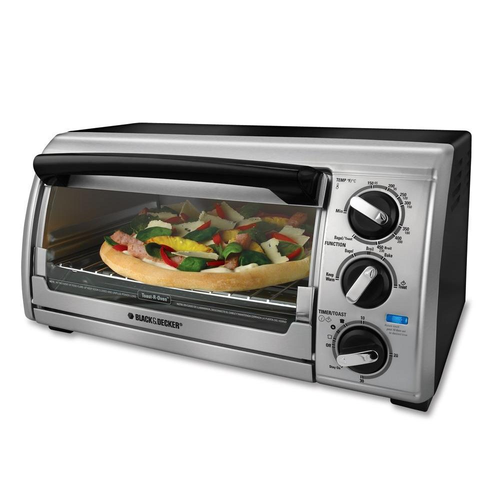 BLACK+DECKER 4-Slice Toaster Countertop Oven-DISCONTINUED
