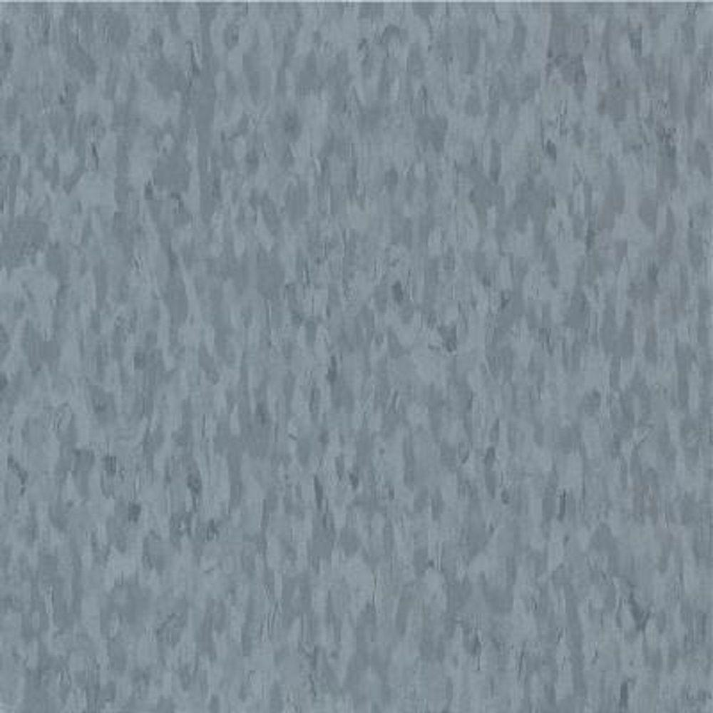 Armstrong Take Home Sample - Imperial Texture VCT Mid Grayed Blue Standard Excelon Commercial Vinyl Tile - 6 in. x 6 in.