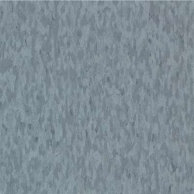 Take Home Sample - Imperial Texture VCT Mid Grayed Blue Standard Excelon Commercial Vinyl Tile - 6 in. x 6 in.