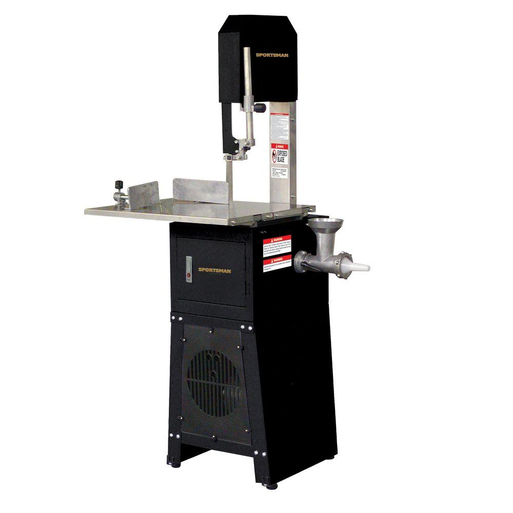 Sportsman Electric Meat Cutting Bandsaw and Grinder