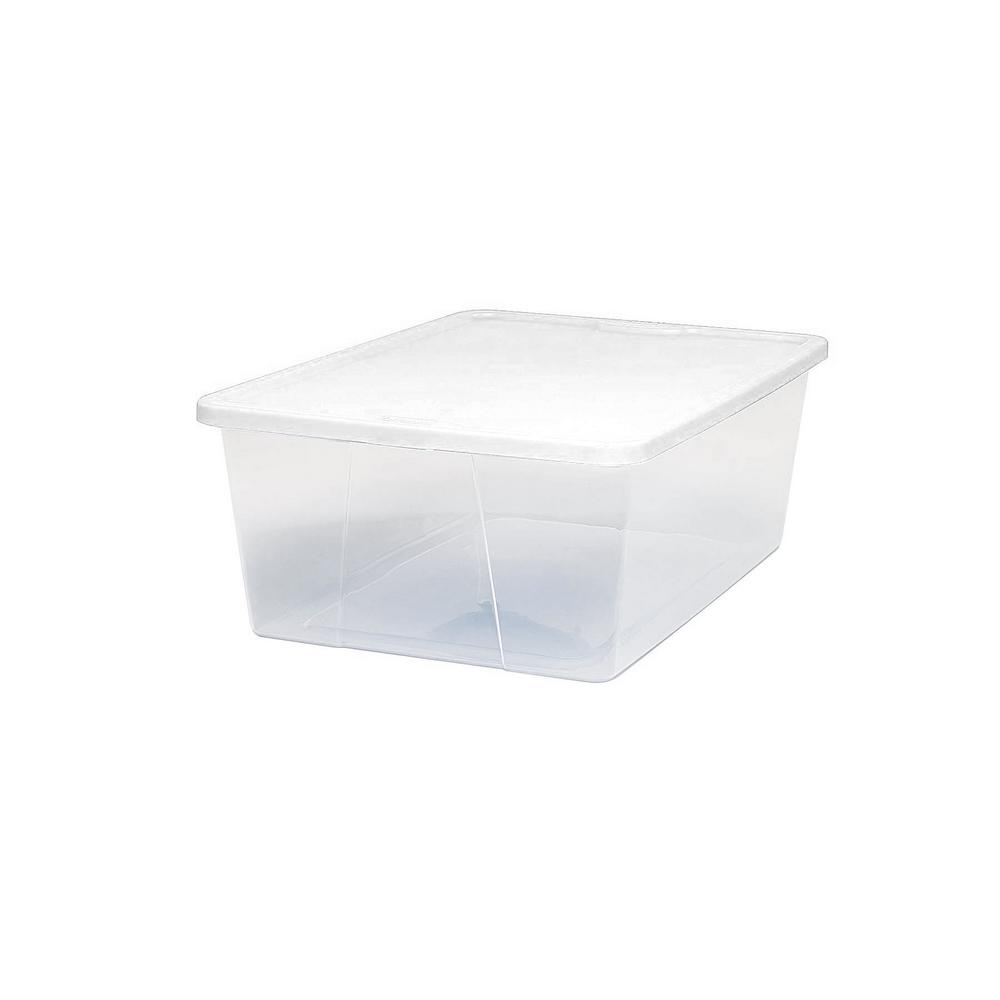 12 Qt. Clear Storage Box (Set of 8)