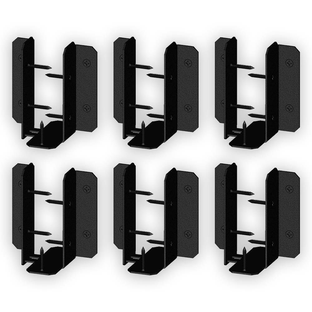 Ironwood 6 in. to 8 in. Adjustable Galvanized Steel Joist Hanger Tab (6-Piece per Box)