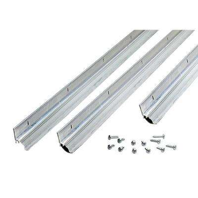 36 in. x 80 in. Mill Wedge Style Door Jamb Weatherstrip Kit