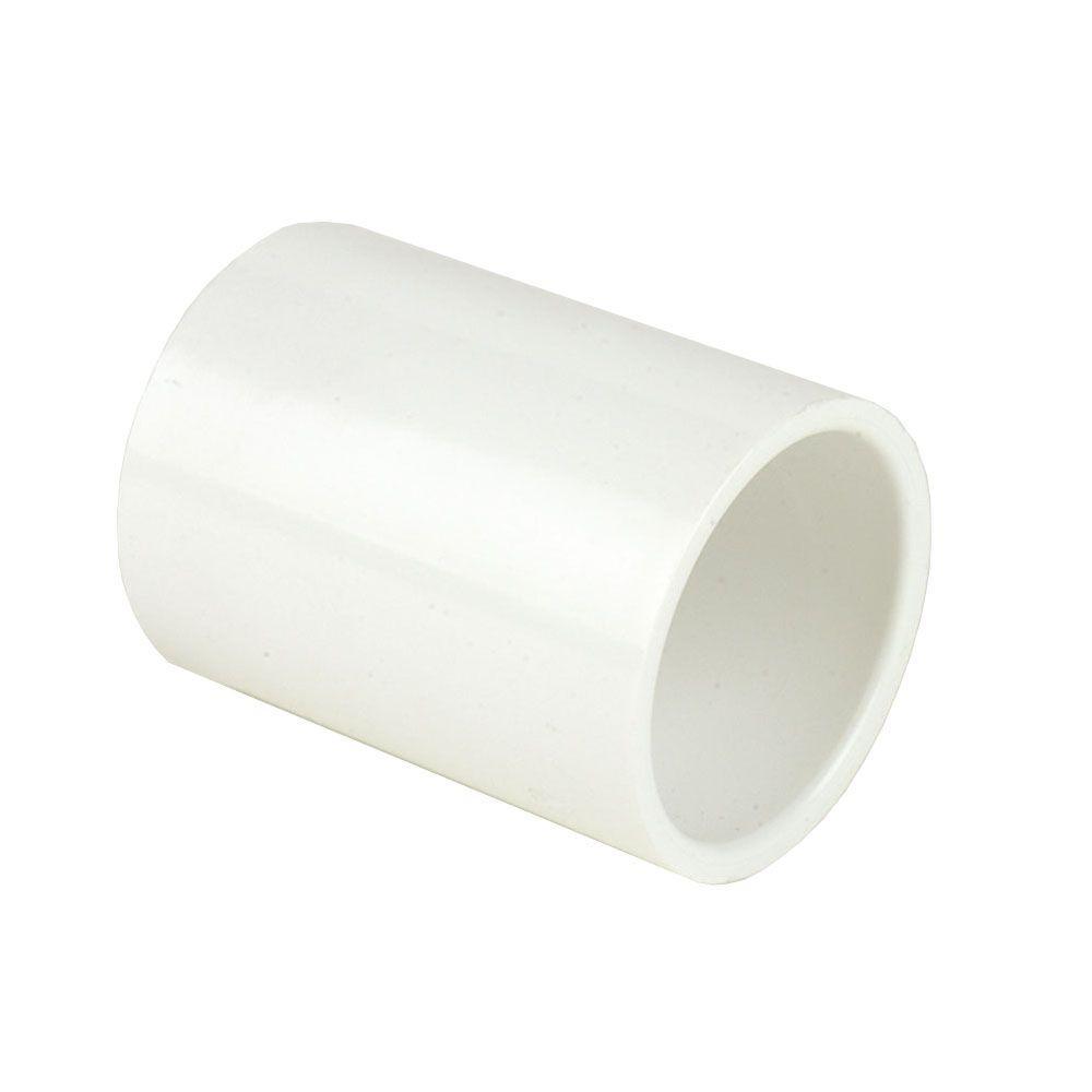 DURA 8 in. Schedule 40 PVC Coupling SxS