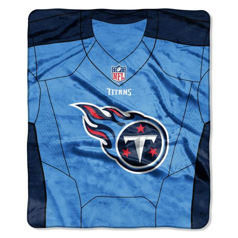 9991202f7ee Titans Jersey Raschel Throw 1NFL070800016RET - The Home Depot