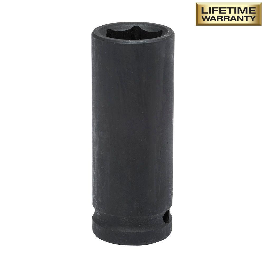 1/2 in. Drive 18 mm 6-Point Deep Impact Socket