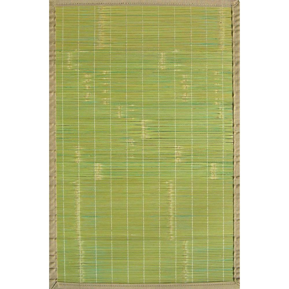 Anji Mountain Key West Green 4 ft. x 6 ft. Area Rug