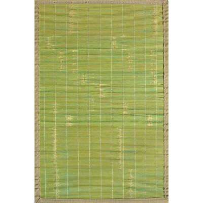 Key West Green 4 ft. x 6 ft. Area Rug