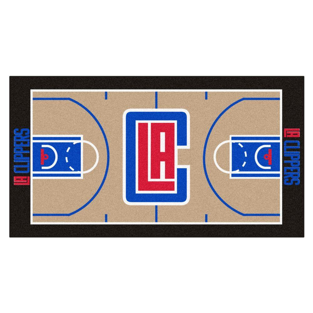 NBA - Los Angeles Clippers Tan 2 ft. x 3 ft.