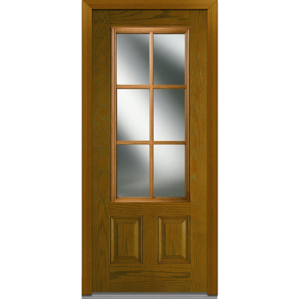 Mmi door 36 in x 80 in sdl low e right hand 34 lite 2 panel mmi door 36 in x 80 in sdl low e right hand rubansaba