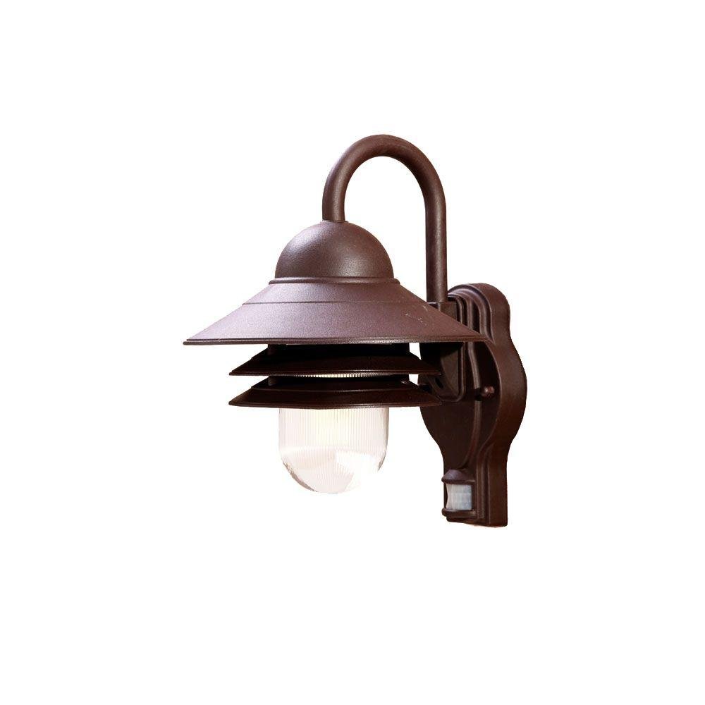 Acclaim Lighting Mariner Collection Wall-Mount 1-Light Outdoor Architectural Bronze Light Fixture