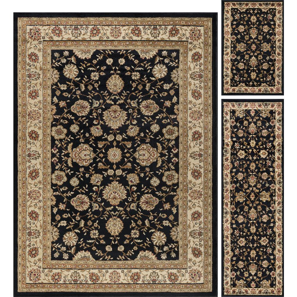 3 Pc Area Rug Set