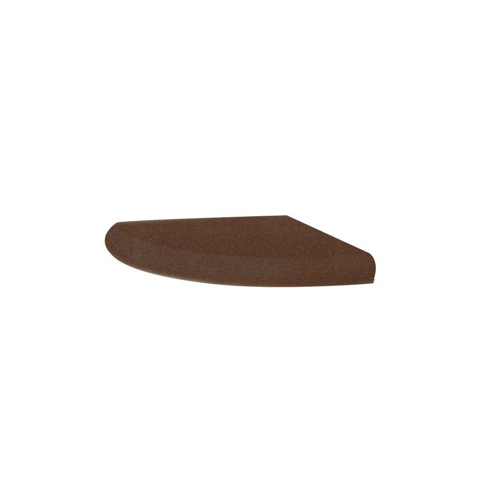 Swanstone Wall Mounted Corner Soap Dish in Acorn-DISCONTINUED
