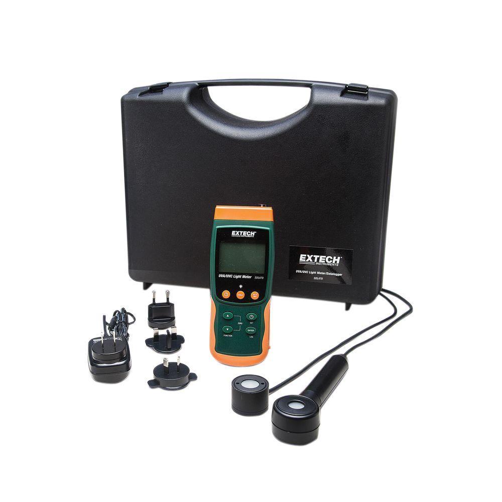 UVA/UVC Light Meter and Datalogger