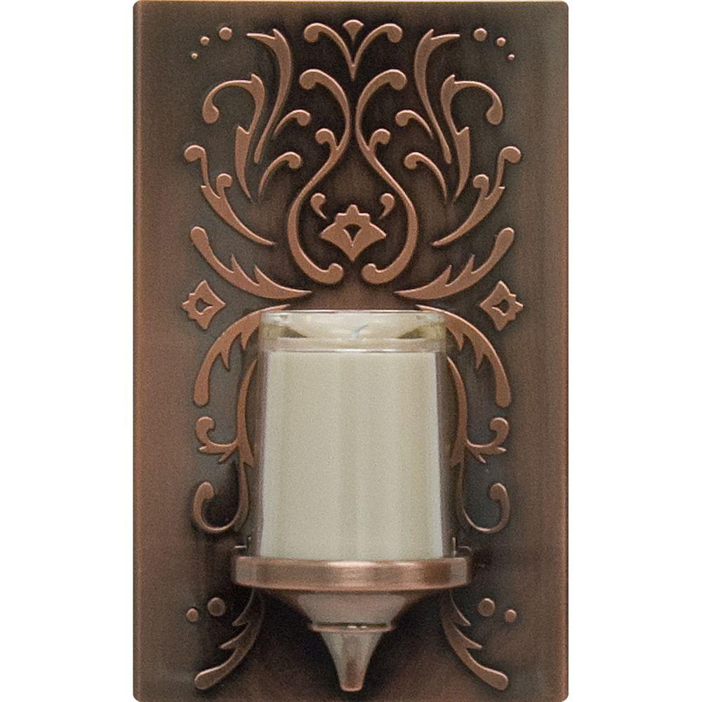 Oil-Rubbed Bronze LED CandleLite Night Light