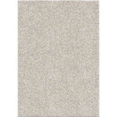 Horton Check Grey 7 ft. 10 in. x 10 ft. 10 in. Area Rug