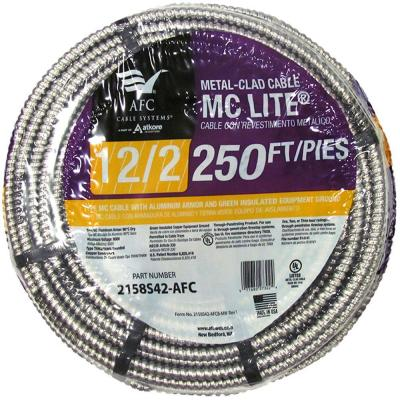 12/2 x 250 ft. Stranded MC Lite Cable