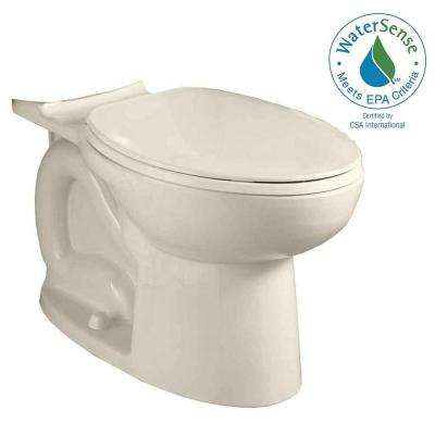 Cadet 3 FloWise Compact Chair Height Elongated Toilet Bowl Only in Linen