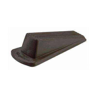 Large Brown Rubber Heavy Duty Door Stop