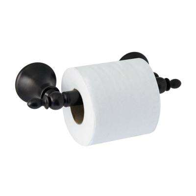 ANTICA Toilet Paper Holder with Stainless Steel Roller in Rubbed Bronze