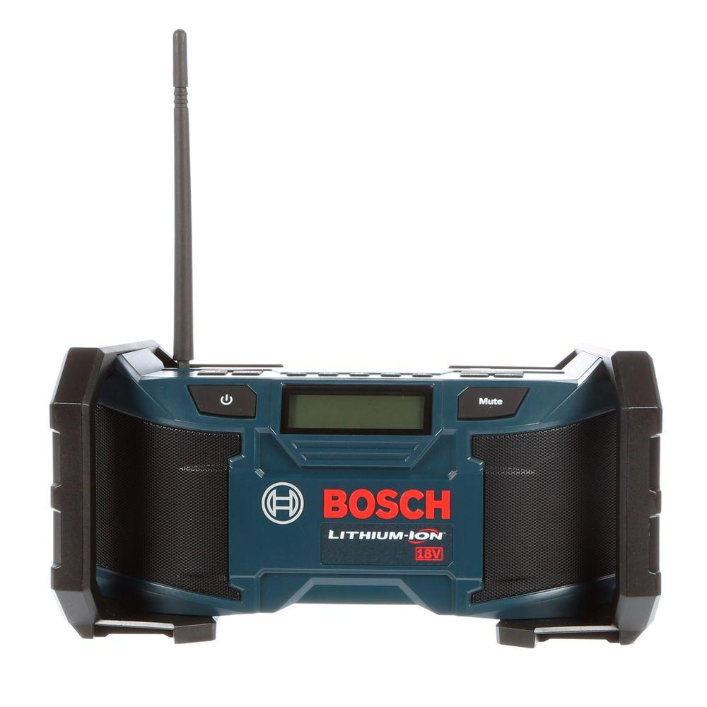 Bosch 18 Volt Lithium-Ion Cordless Compact Jobsite Radio