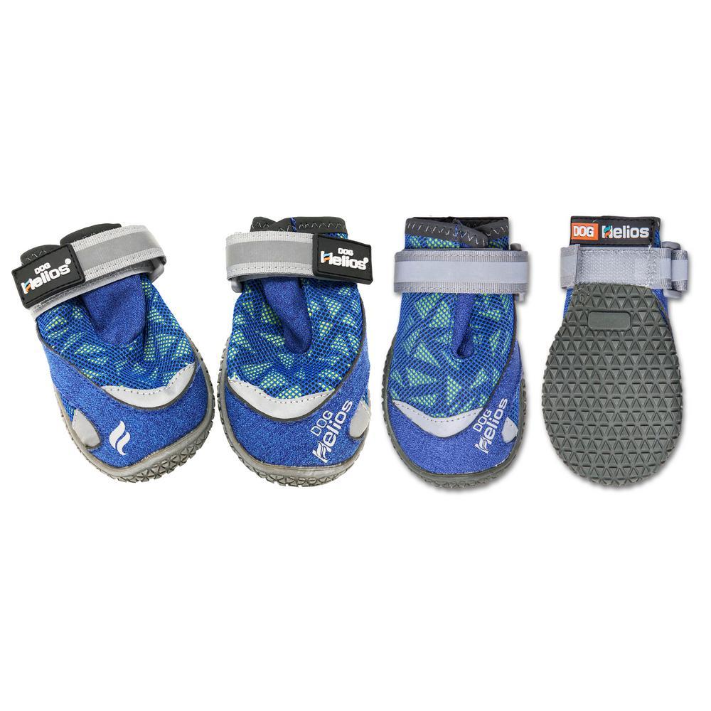 Medium Blue Surface Premium Grip Performance Dog Shoes