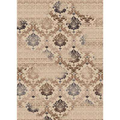 Fiona Cream 7 ft. 10 in. x 10 ft. 10 in. Indoor Area Rug