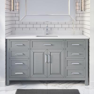 With Electrical Outlet - Bathroom Vanities With Tops - Bathroom Vanities -  The Home Depot