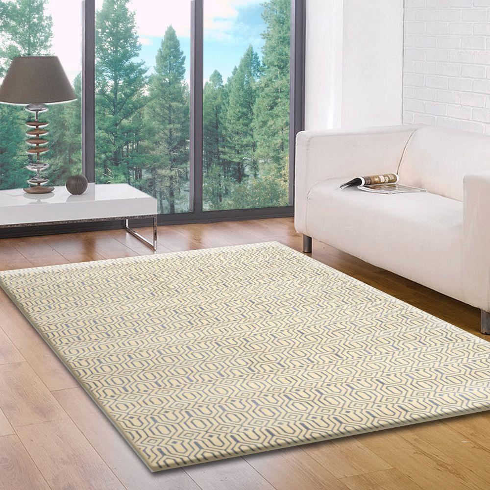 Home Dynamix Radiance Ivory 7 ft. 10 in. x 10 ft. 2 in. Indoor Area Rug