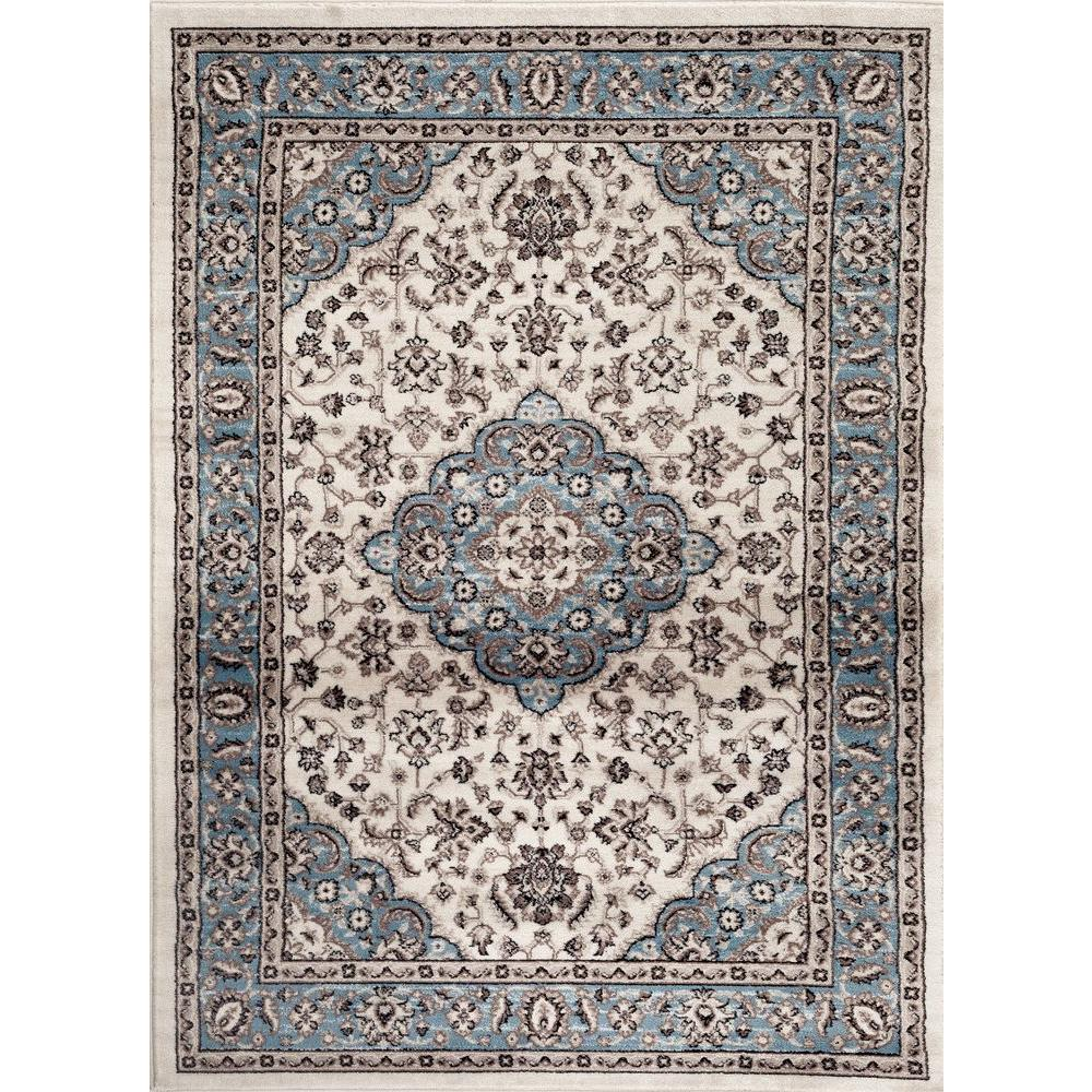 World Rug Gallery Traditional Oriental Medallion Design