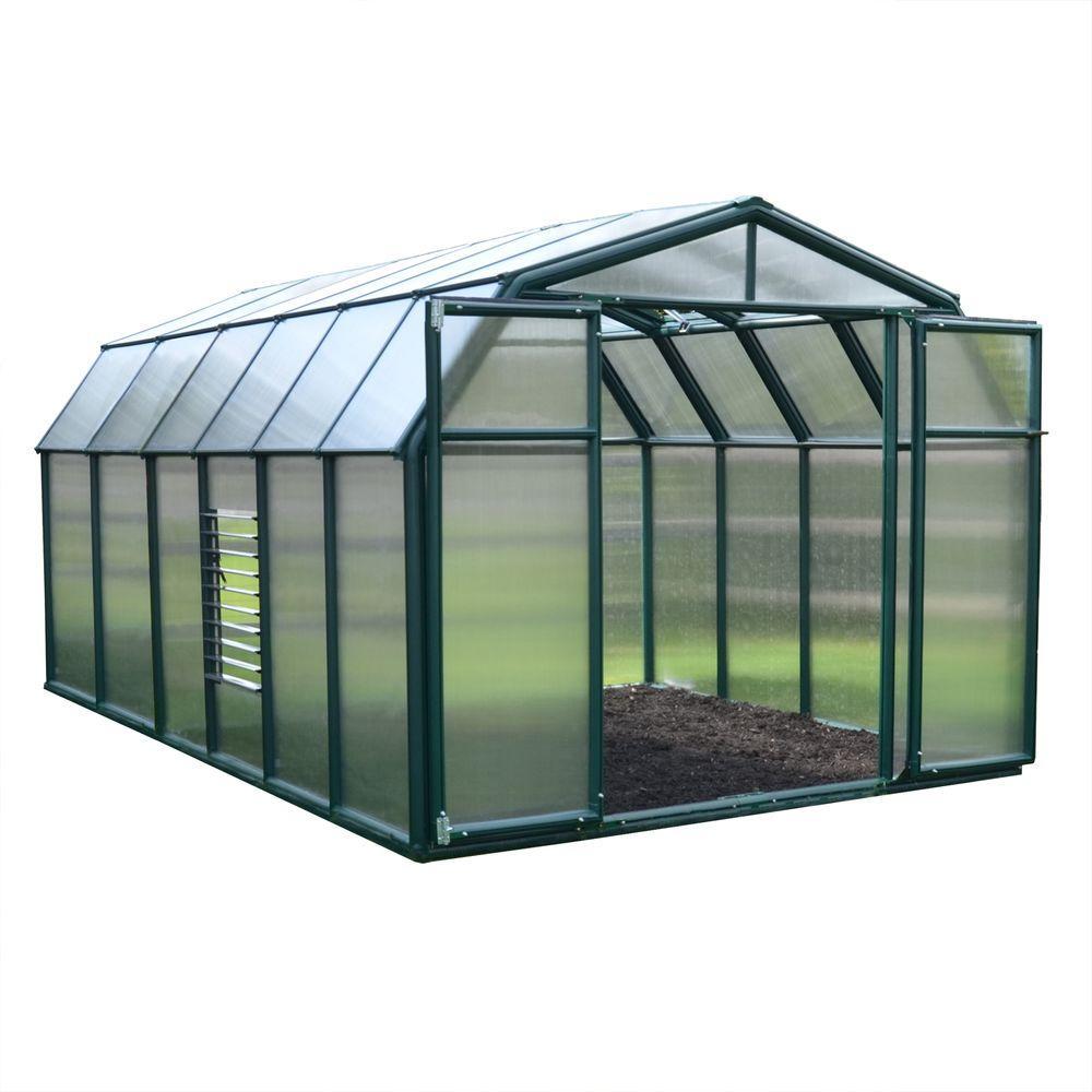 Rion Hobby Gardener 8 ft. x 12 ft. Greenhouse