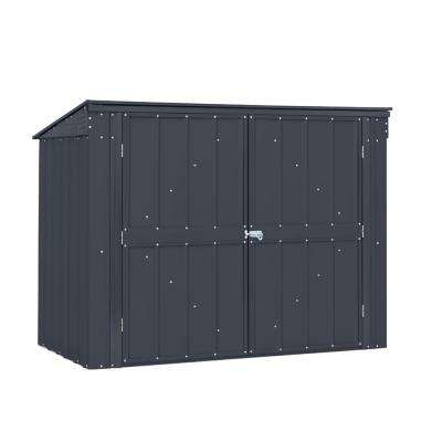 Bin Storage 5.8 ft. x 3.3 ft. Horizontal Metal Storage Shed
