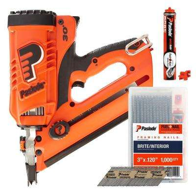 CF325 Lithium-Ion Cordless Framing Nailer Combo with Free Fuel + Nail Pack