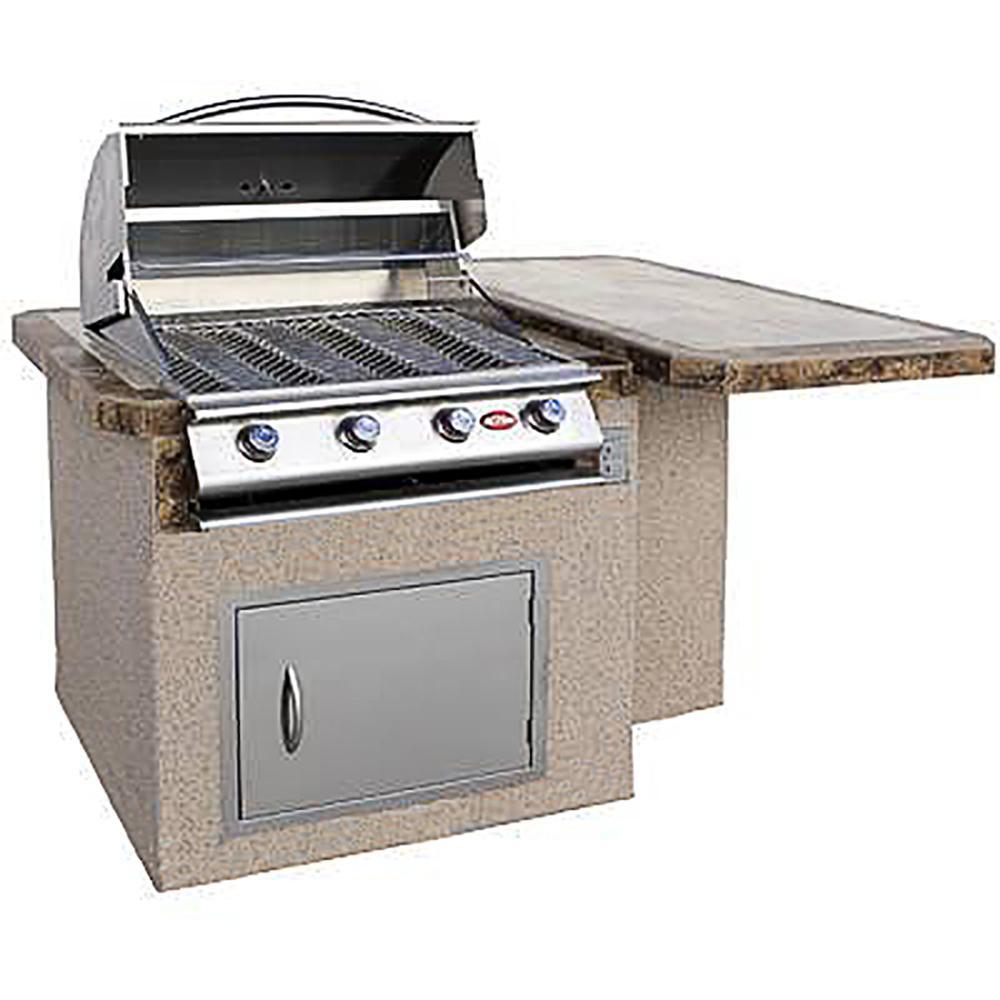 Cal Flame Modular Outdoor Kitchen Modular Bar Counter   LBK-402-A
