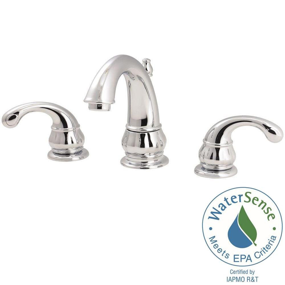 Pfister Treviso 8 in. Widespread 2-Handle Bathroom Faucet in ...