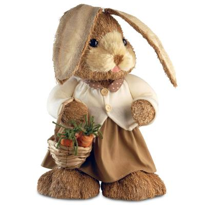 36 in. Brown Standing Rabbit