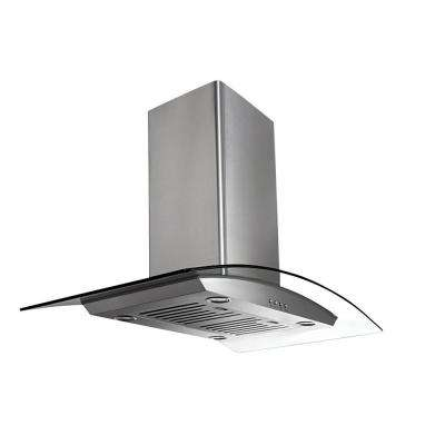 IGCP430 30 in. Island-Mounted Convertible Range Hood in Stainless Steel