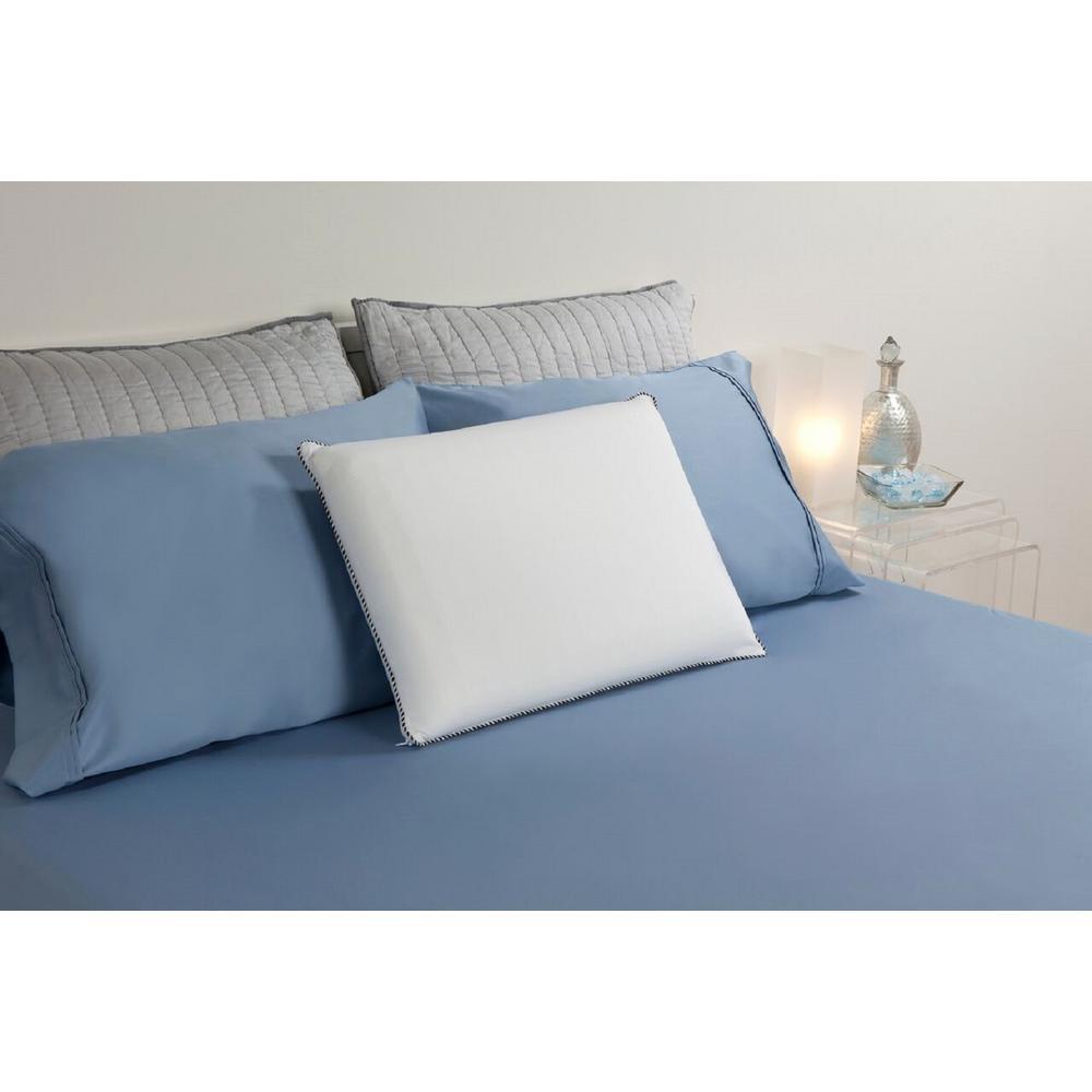 comfort revolution cooling cubes hydraluxe gel bed standard pillow