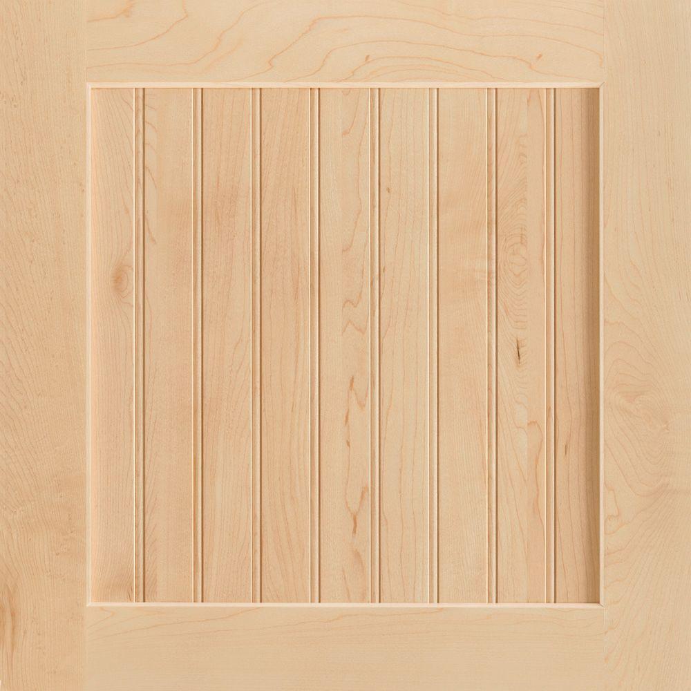 14-9/16x14-1/2 in. Shorebrook Maple Cabinet Door Sample in Natural