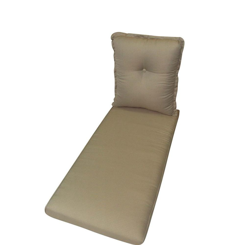 null Summer Silhouette Replacement Outdoor Chaise Lounge Cushion-DISCONTINUED