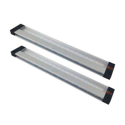Selta 9 in. LED Aluminum Under Cabinet Light (2-Pack)
