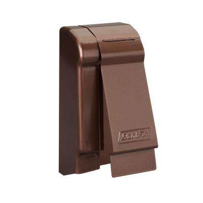 Fine/Line 30 Decor Series 3-3/4 in. Left-Hand End Cap for Baseboard Heaters in Rubbed Bronze