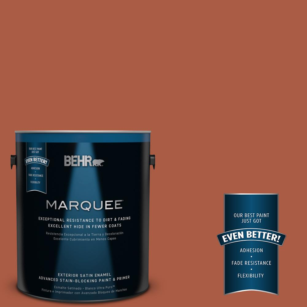BEHR MARQUEE 1-gal. #M190-7 Colorful Leaves Satin Enamel Exterior Paint