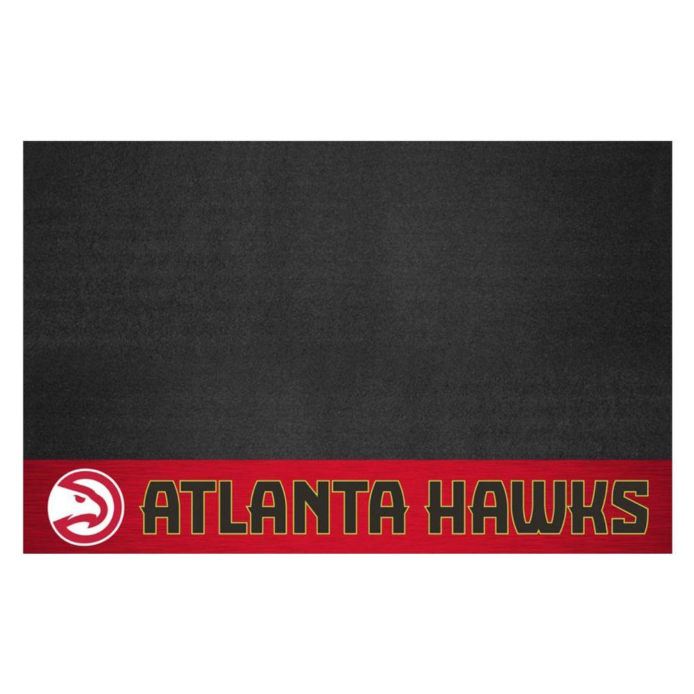 NBA Atlanta Hawks 26 in. x 42 in. Grill Mat