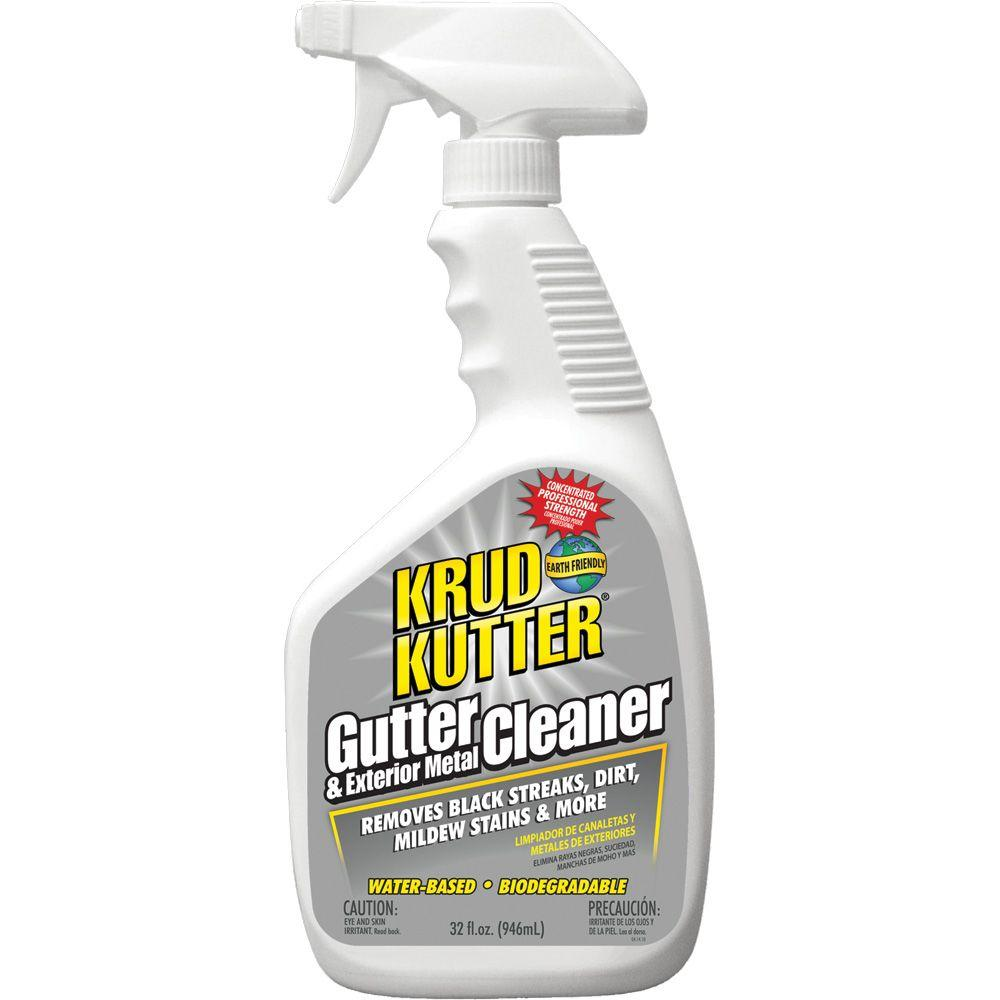 Krud Kutter 32 Oz Gutter Cleaner Gc326 The Home Depot