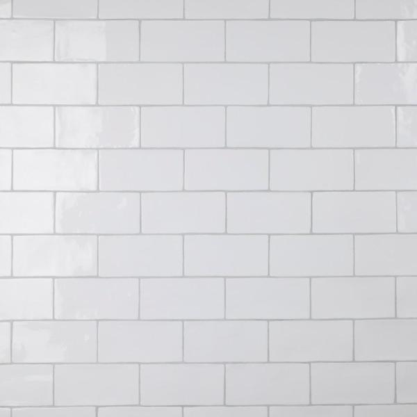 Chester Bianco 3 in. x 6 in. Ceramic Subway Wall Tile (6.02 sq. ft. / Case)