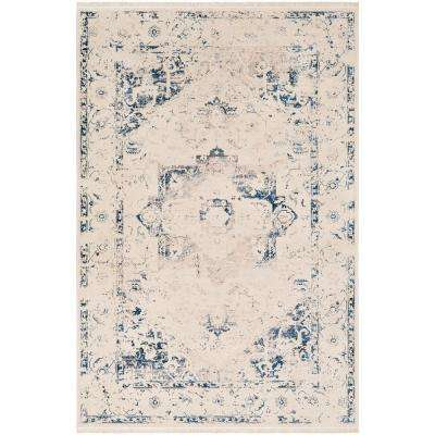 Theia Navy 9 ft. x 12 ft. 10 in. Oriental Area Rug