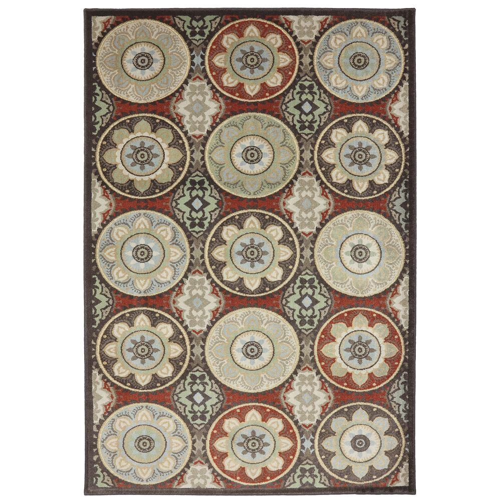 American Rug Craftsmen Cliff Lodge Coco 5 ft. 3 in. x 7 ft. 10 in. Area Rug